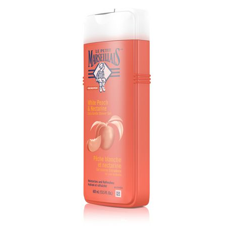 Le Petit Marseillais®White Peach & Nectarine Extra Gentle Shower Crème Body Wash - image 2 of 3
