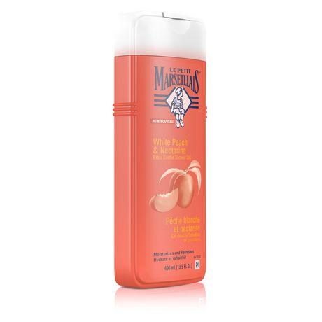 Le Petit Marseillais®White Peach & Nectarine Extra Gentle Shower Crème Body Wash - image 3 of 3