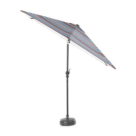 parasol de march manivelle de hometrends de 2 7 m 9 pi walmart canada. Black Bedroom Furniture Sets. Home Design Ideas