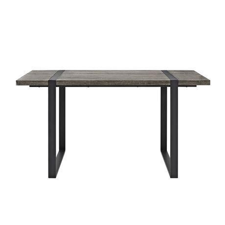 Table de salle manger en charbon urban blend de 152 cm for Salle a manger urban