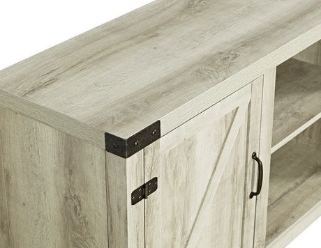 "Manor Park Farmhouse Barn Door TV Stand for TV's up to 64"" - Multiple Finishes - image 3 of 4"