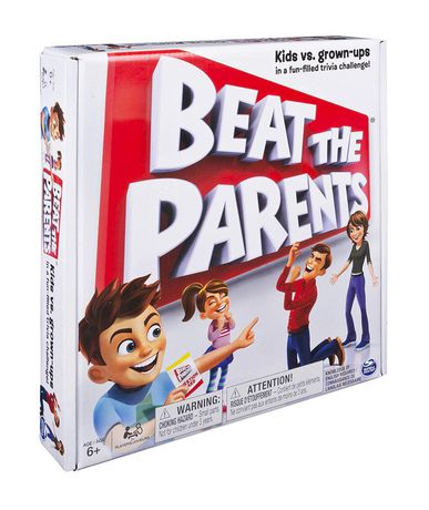 Spin Master Games Beat the Parents Board Game - image 2 of 4