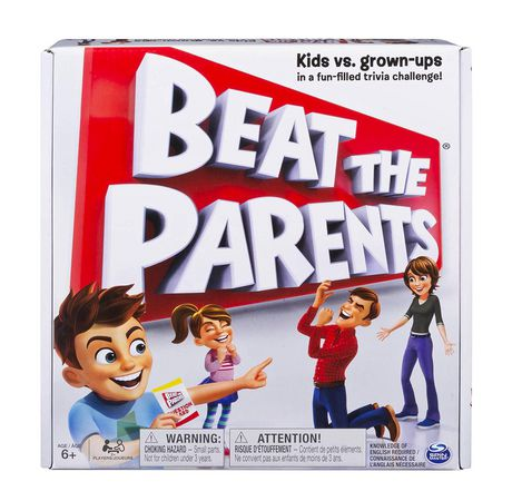 Spin Master Games Beat the Parents Board Game - image 1 of 4