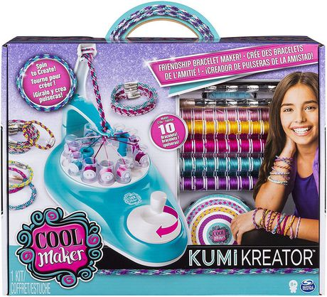 Multi-coloured box from Cool Maker containing 88 spools of string to create friendship bracelets