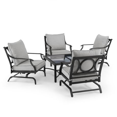 hometrends Newport 5 Piece Conversation Set - image 2 of 9