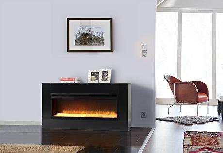 Flamelux Mantova 42 Inches Wide Freestanding Firebox Walmartca
