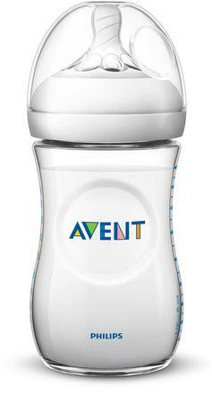 Philips Avent - Biberon naturel 260 ml (9 oz)Tétine à débit lent1 mois et plus - image 1 de 1