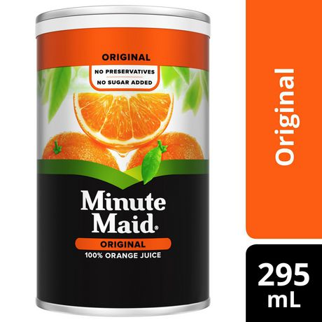Minute Maid® Orange Juice Frozen Concentrate 295 mL Can - image 1 of 4