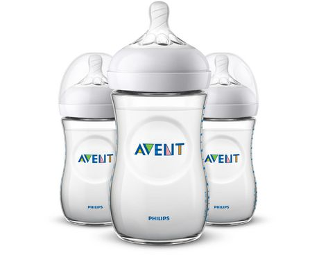 Philips Avent - Natural Baby Bottle 9oz/260mlSlow flow nipple1m+ - image 1 of 1