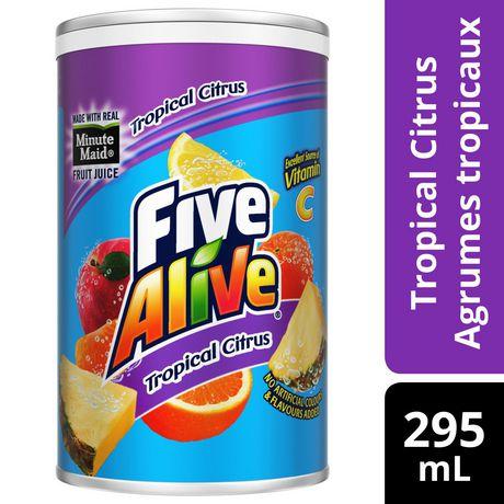 Minute Maid Five Alive Tropical Citrus Fruit Juice