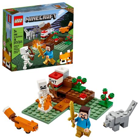LEGO Minecraft The Taiga Adventure 21162 Cool Toy Building Kit for Kids (74 Pieces)