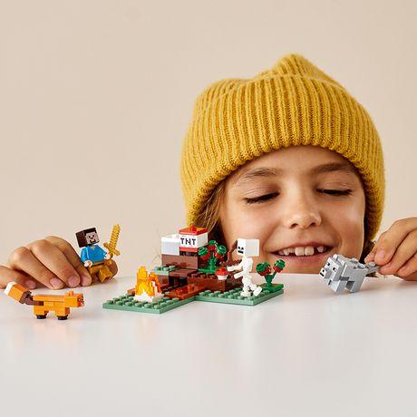 Lego 21162 Minecraft la taïga région Aventure Jeu de rôle Building Toy Playset