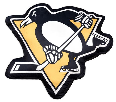 Nhl Team Logo Cushion Pittsburgh Penguins Walmart Canada
