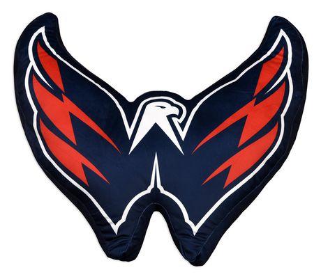 NHL Team Logo Cushion- Washington Capitals - image 1 of 3