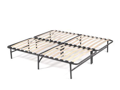 Cadre de lit en bois, Plusieurs grandeurs - image 1 de 5