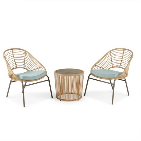 hometrends Nepal 3 Piece Chat Set - image 2 of 9