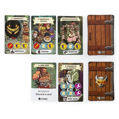 5 - Minute Dungeon Fun Card Game for Kids and Adults - image 4 of 6