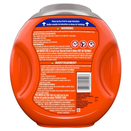 Capsules de détergent à lessive liquide Tide PODS Propreté en eau froide, parfum frais - image 2 de 8