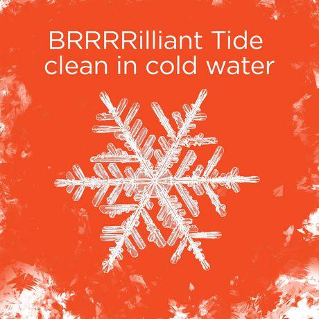 Capsules de détergent à lessive liquide Tide PODS Propreté en eau froide, parfum frais - image 3 de 8