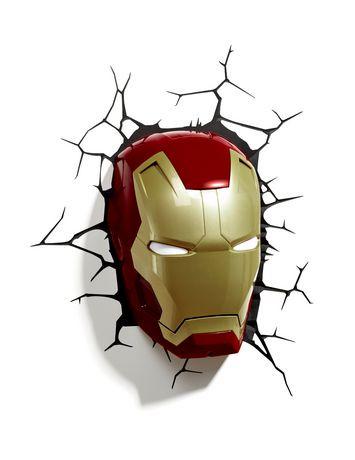 Marvel 3d Age Of Ultron Iron Man Mask Led Light Walmart