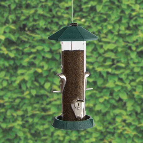 North States 2-in-1 Hinged-Port Birdfeeder 4-Perch - image 3 of 3