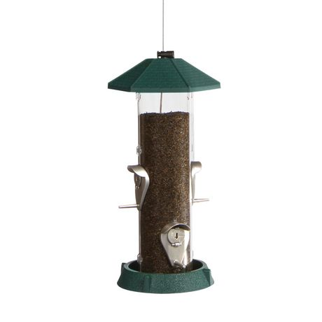 North States 2-in-1 Hinged-Port Birdfeeder 4-Perch - image 1 of 3
