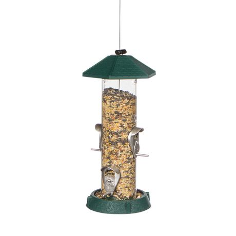 North States 2-in-1 Hinged-Port Birdfeeder 4-Perch - image 2 of 3