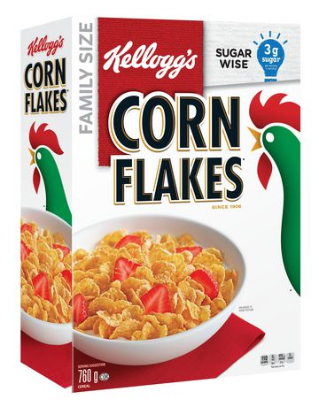 Kellogg's Corn Flakes Cereal, 760g - image 2 of 10