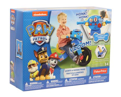 Fisher-Price Nickelodeon PAW Patrol Lights & Sounds Trike - image 9 of 9