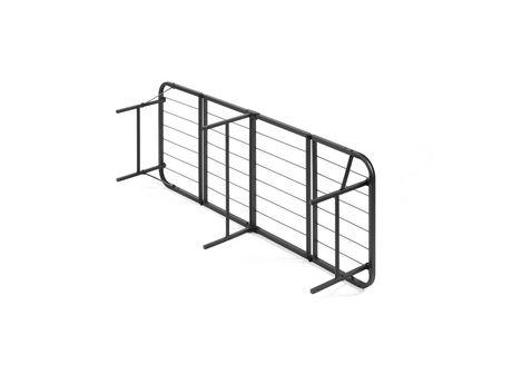 Simple Base Quad Fold Bed Frame Multiple Sizes Walmart
