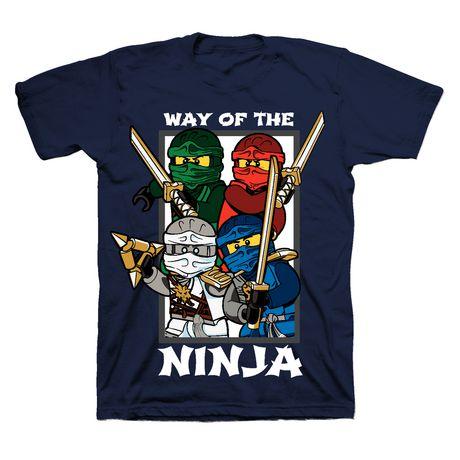 Boys LEGO Ninjago short Sleeve Shirt - image 1 of 1