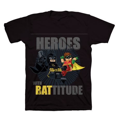 Boys Batman LEGO short Sleeve Shirt - image 1 of 1