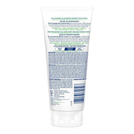 St. Ives  Naturally Clear Green Tea Facial Scrub 150ml - image 3 of 8