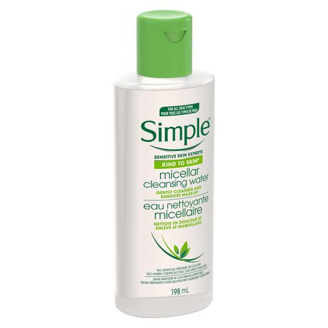 Simple Kind to Skin Facial Wipes For All Skin Types Micellar effectively removing dirt, make-up and impurities 25 count - image 3 of 8