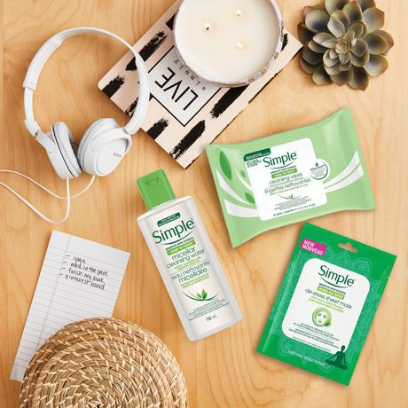 Simple Kind to Skin Cleansing Facial Wipes 25 count - image 7 of 9