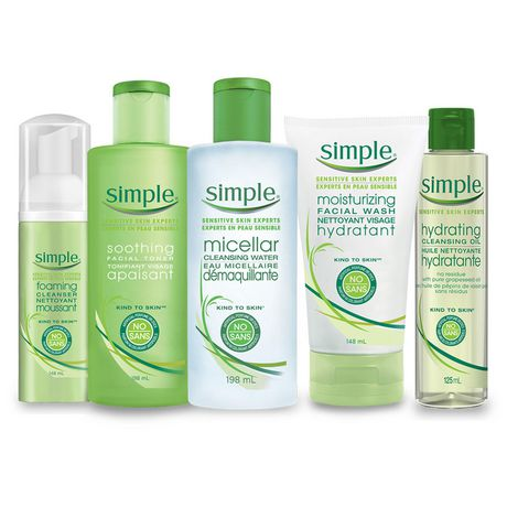 Simple Kind to Skin Facial Wipes For All Skin Types Micellar effectively removing dirt, make-up and impurities 25 count - image 5 of 8