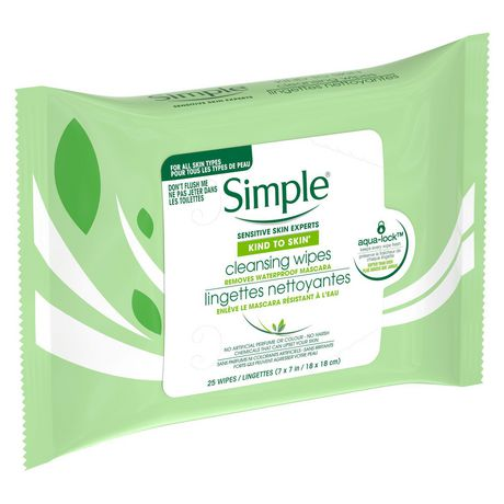 Simple Kind to Skin Cleansing Facial Wipes 25 count - image 8 of 9
