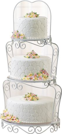 Wilton Graceful Tiers Cake Stand  sc 1 st  Walmart Canada & Wilton Graceful Tiers Cake Stand | Walmart Canada