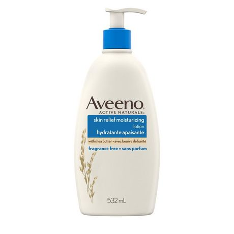 Aveeno Skin Relief Body Lotion, Unscented - image 1 of 6