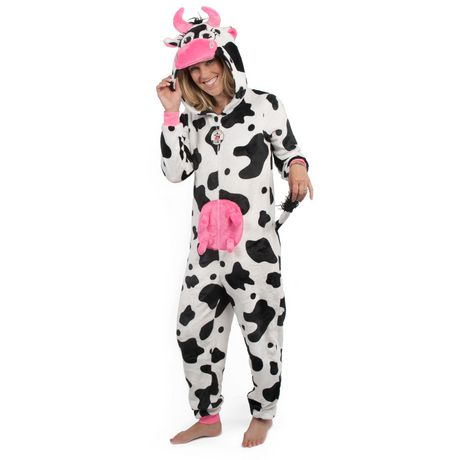42de6f9035a0 George Ladies  Hooded Cow Onesie - image 1 ...