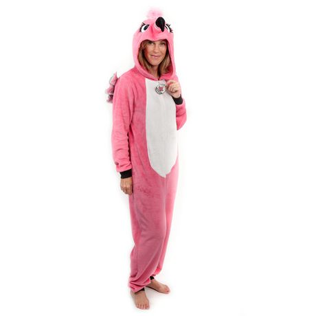 8c51a6247bbc George Ladies  Hooded Flamingo Onesie - image 1 ...