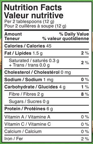 Beurre d'arachide en poudre naturelle de PB&Me - image 2 de 2