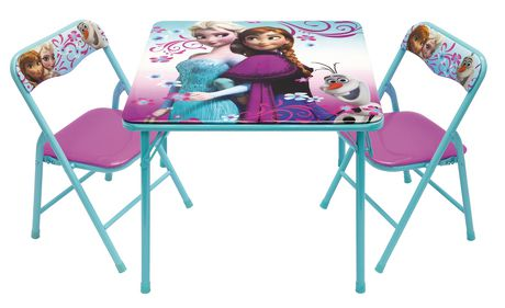 Frozen Activity Table And Chairs Set Walmart Ca