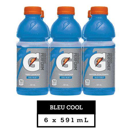 Gatorade Cool Blue Sports Drink, 591mL Bottles, 6 Pack - image 2 of 6