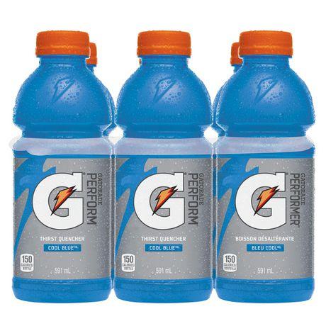 Gatorade Cool Blue Sports Drink, 591mL Bottles, 6 Pack - image 3 of 6