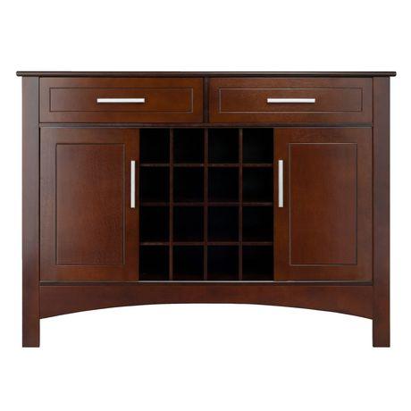 Winsome gardner buffet cabinet for Gardner storage
