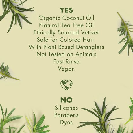 Love Beauty And Planet Tea Tree Oil & Vetiver Conditioner Radical Refresher 400mL - image 3 of 9