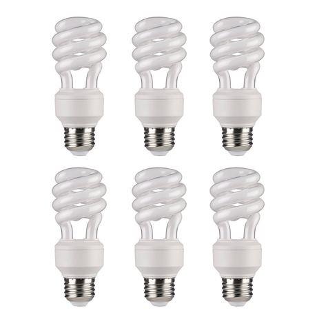 ampoule fluorescente compacte lumi re du jour t3 14w de great value walmart canada. Black Bedroom Furniture Sets. Home Design Ideas