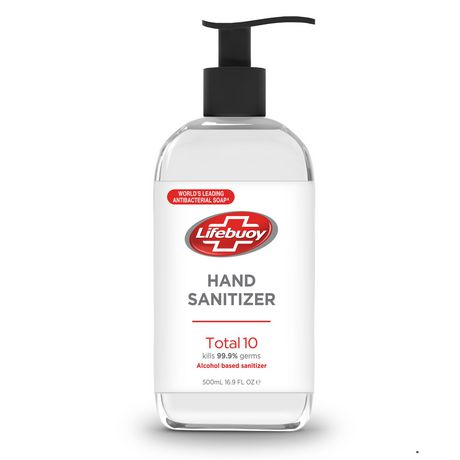 LIFEBUOY HAND SANITIZER TOTAL 10 500 mL - image 1 of 1