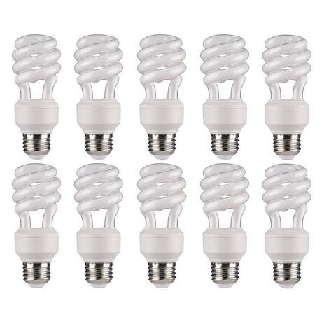 Ampoule fluorescente compacte lumière du jour T3 14W de Great Value - image 1 de 1